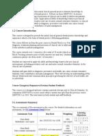 ECP Course Profiles 2011