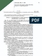Civil Rights Act of 1968, Pub. L. 90-284, 82 Stat. 73