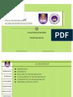 ISB540 - MUSHARAKAH