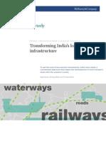 Transforming India's logistics