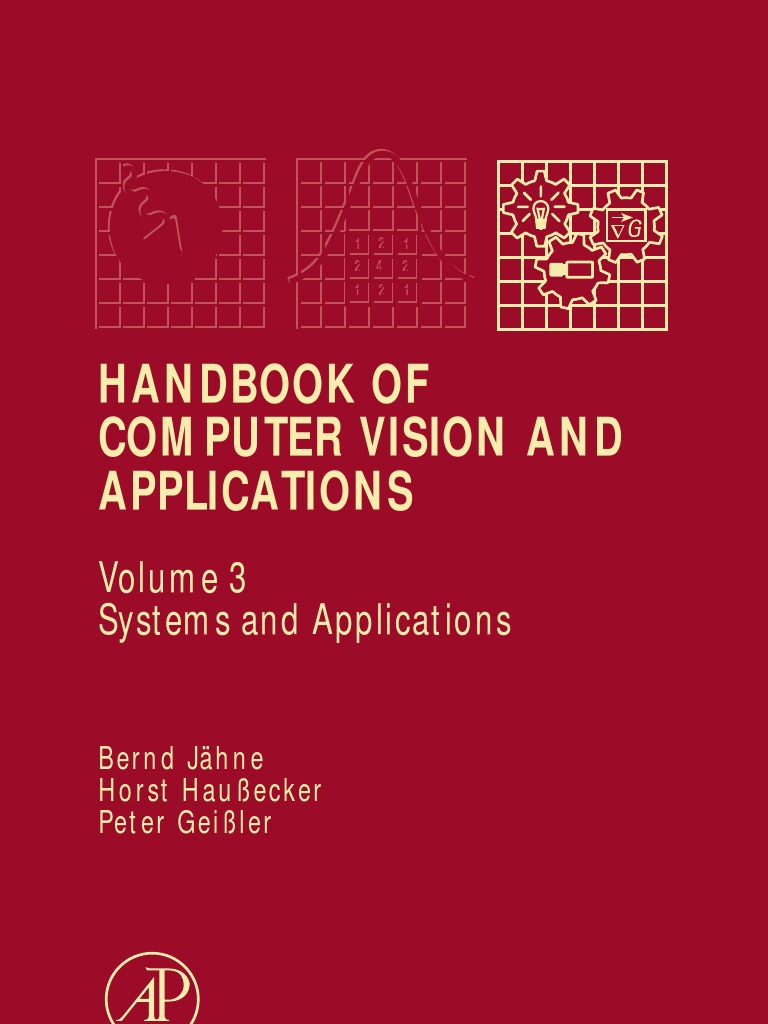 Jahne B Handbook Of Computer Vision And Applications Vol 3 Despite Every Effort To Overcomplicate This Projectit Manages Systems Field Programmable Gate Array
