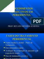 PROCEDIMENTOS RESSECTIVOS EM PERIODONTIA