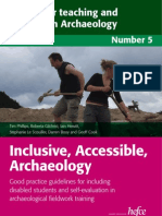 Inclusive Accessible Archaeology No. 5