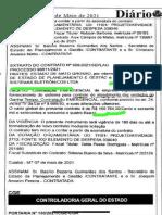 Basilio Bezerra Renovou Contrato Com Empresa Visual Apesar de Identificá-la Como Causadora de Erros Na Documentaça Dos Atendimentos No Ganha Tempo MT
