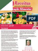 E-book - 10 Receitas fáceis para Reeducação Alimentar
