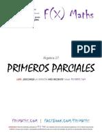 1ros Parciales (Álgebra 27 - CBC) F(X) Maths