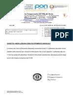 Circolare N. 261 Inizio Lezioni INDIRIZZO MUSICALE 2017 Signed 1