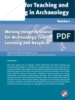 Moving Image Resources for Archaeology Teaching, Learning and Research