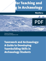 Teamwork and Archaeology