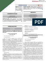 Resolución Suprema Nº 007-2021-MC que aceptan renuncia y encargan funciones de Jefe Institucional de la Biblioteca Nacional del Perú
