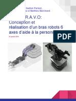 Rapport - Bras Robot B.R.a.v.O