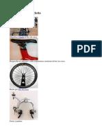 Componenti ed energia bicicletta