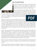 U.N. Arms Trade Treaty
