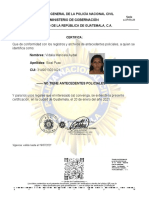 ANTECEDENTES POLICIACOS Puac