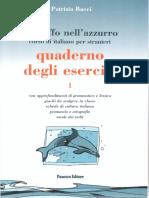Un Tuffo Nell 39 Azzurro - Quaderno Degli Esercizi
