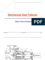 Mechanical Seal Failures
