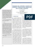 Sánchez et al. (2019) Finanzas del deporte