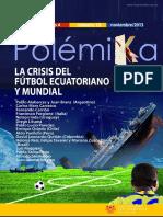 Carrión (2013) La Crisis Del Fútbol Ecuatoriano. Populismo Financiero Futbolístico