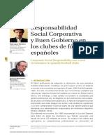 López-Martínez & Fernández-Fernández (2015) Responsabilidad social corporativa y buen gobierno en los clubes de fútbol españoles