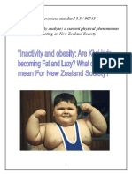 The obese Obesity Essay - better version