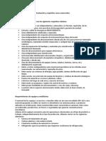 Evaluación y requisitos casas comerciales