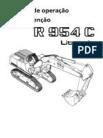 LIEBHERR Manual de manutenção e operação - R954C (1)