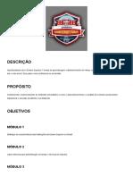 PLANEJAMENTO DE CARREIRA E SUCESSO PROFISSIONAL - MÓDULO 1