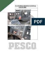 Operación Control Remoto 800D