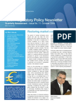 ICMA Regulatory Policy Newsletter Oct08