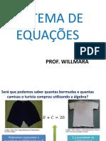Sistema de Equações Do 1º Grau- Resolução de Situações Problema