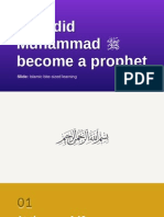 How our Muhammad (pbuh) become a prophet