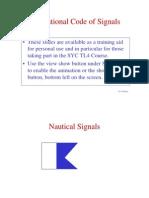 International Code of Signals slides