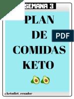 KETO DIET SEMANA 3