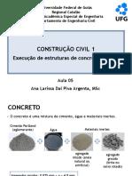 Aula 05 - Execucao de estruturas de concreto armado