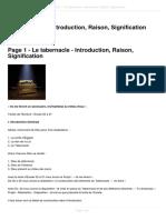le-tabernacle-introduction-raison-signification