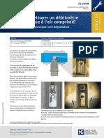 Debitmetre d'Air Nettoyage