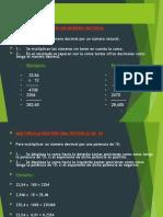 multiplicacion y división decimal alumno