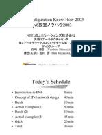 Summary on IPv6