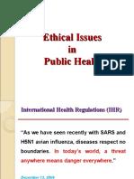 MMMC - Ethics in Public Health