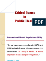 MMMC - Ethics in Public Health