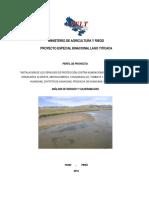 Riesgos y Vulnerabilidad Huancane