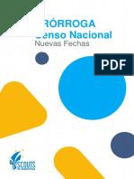 Circular 3 - Censo Sedes Seguras (Prórroga)