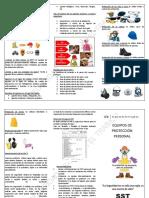 USO Y  MANTENIMIENTO  DE EQUIPOS DE PROTECCIÓN PERSONAL -TEXTIMAX