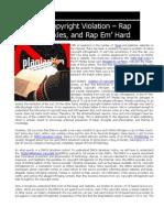 Inohelp IP - Online Copyright Violation