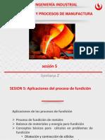 sesion 5. Aplicaciones del proceso de fundicion de metales