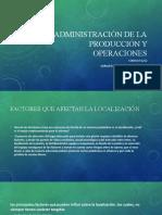 ADMINISTRACIÓN DE LA 4