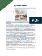 De la Era del Guano a la Guerra del Pacífico