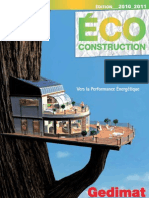 catalogue éco construction 2011