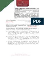 CONTRATO DE PRESTACAO DE SERVICOS ADVOCATICIOS