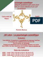 Psychologie Scientifique (1)